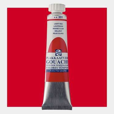 Gouache Extra-fine Quality Talens - Rouge clair 301