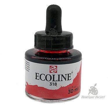 Encre Aquarelle Ecoline 30ml Carmin 318