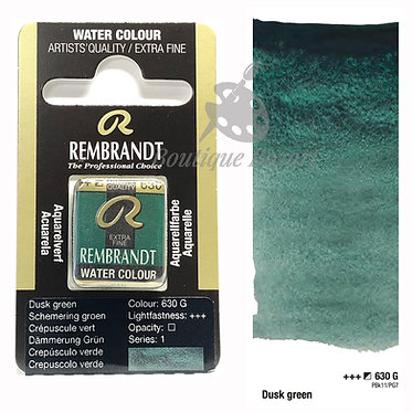 Aquarelle Extra-fine Rembrandt - Crépuscule Vert 630G série 1