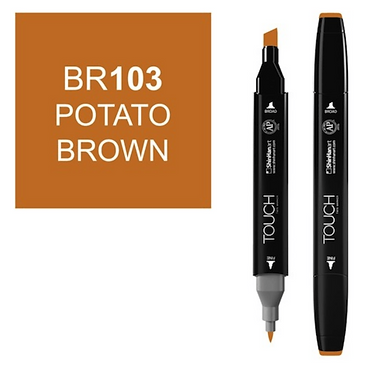 Touch Twin Brush / Marker BR103 POTATO BROWN