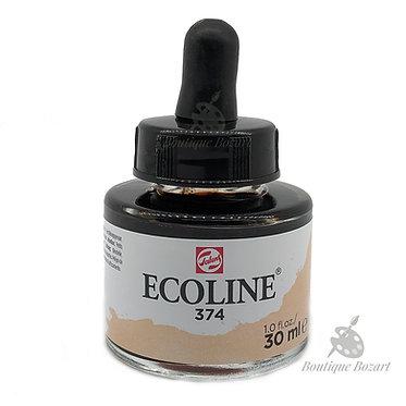 Encre Aquarelle Ecoline 30ml Beige Rose 374