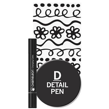 Chameleon Pen Detail Noir
