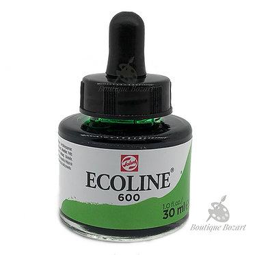 Encre Aquarelle Ecoline 30ml Vert 600