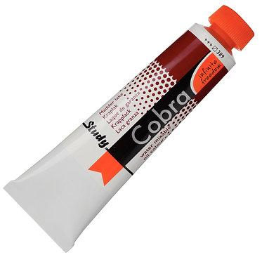 Huiles dilluable à l'eau Cobra Study Laque Garance 389