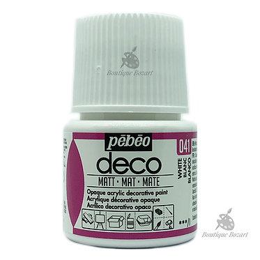 Peinture décorative opaque Deco Mat Blanc 041