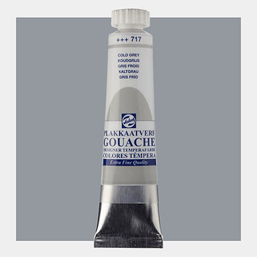 Gouache Extra-fine Quality Talens - Gris froid 717