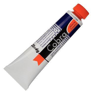 Huiles dilluable à l'eau Cobra Study Violet Bleuâtre perm. 568