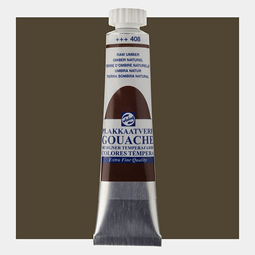 Gouache Extra-fine Quality Talens - Ombre naturel 408