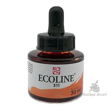 Encre Aquarelle Ecoline 30ml Vermillon311