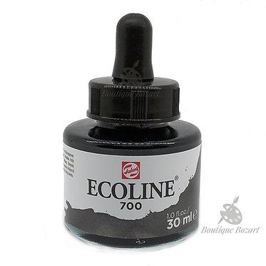 Encre Aquarelle Ecoline 30ml Noir 700
