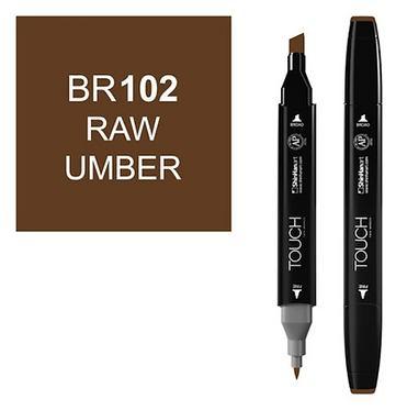 Touch Marker BR102 RAW UMBER
