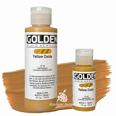 Golden Fluide Acryl - Yellow Oxide S1