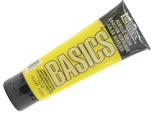 Acrylique Basics Jaune Cadmium Clair 160