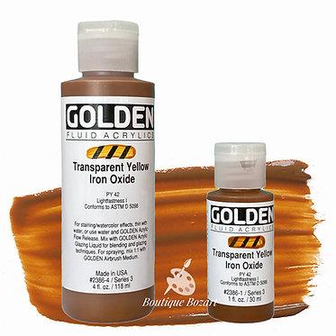 Golden Fluide Acryl - Transparent Yellow Iron Oxide S3