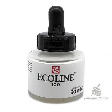 Encre Aquarelle Ecoline 30ml Blanc opaque 100