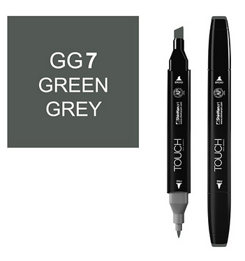 Touch Marker GG7 GREEN GREY