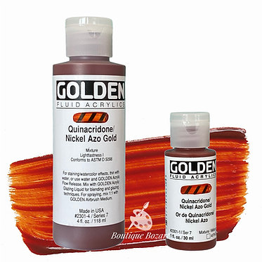 Golden Fluide Acryl - Quinacridone / Nickel Azo Gold S7