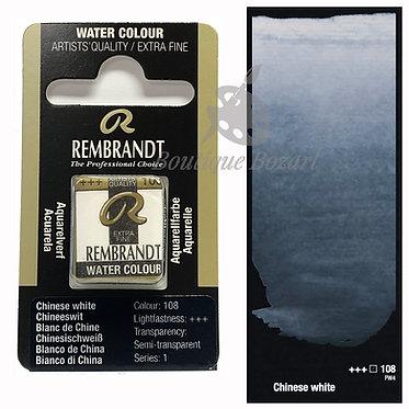 Aquarelle Extra-fine Rembrandt - Blanc de Chine 108 série 1