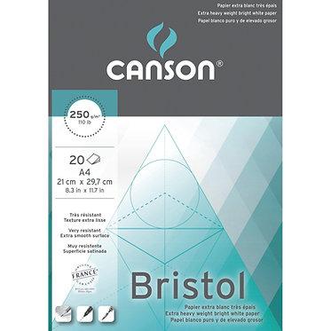 Bloc papier BRISTOL de Canson