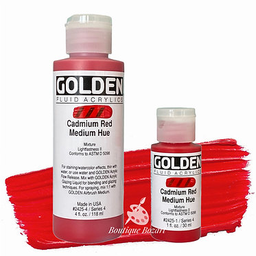 Golden Fluide Acryl - Cadmium Red Medium Hue S4