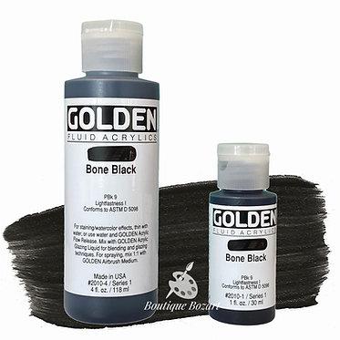 Golden Fluide Acryl - Bone Black S1