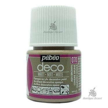 Peinture décorative opaque Deco Mat Cendre brune 070