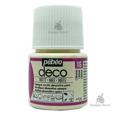 Peinture décorative opaque Deco Mat Crème 116