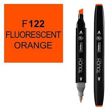 Touch Twin Brush / Marker F122 FLUO ORANGE