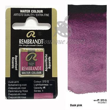 Aquarelle Extra-fine Rembrandt - Crépuscule Rose 373 série 1