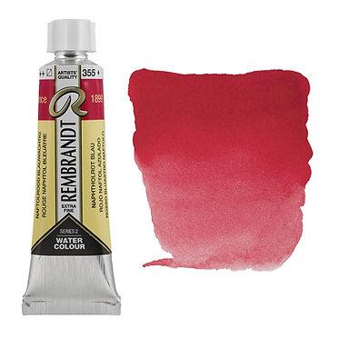 Aquarelle Extra-fine Rembrandt tube 10ml - Rouge Naphtol Bleuâtre 355 S2