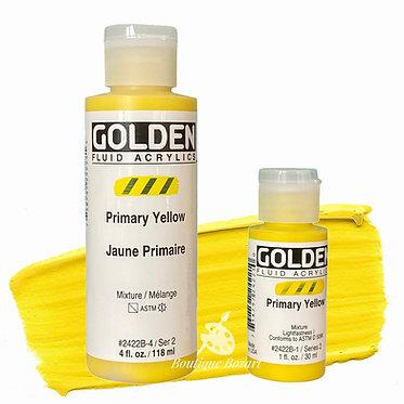 Golden Fluide Acryl - Primary Yellow S2