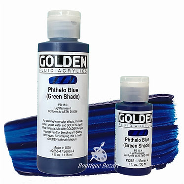 Golden Fluide Acryl - Phtalo Blue (green shade) S4
