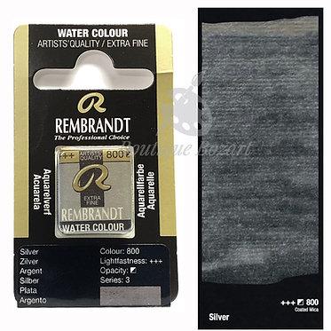 Aquarelle Extra-fine Rembrandt - Argent 800 série 3