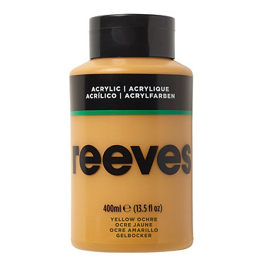 Acrylique fine Reeves 400ml Ocre jaune