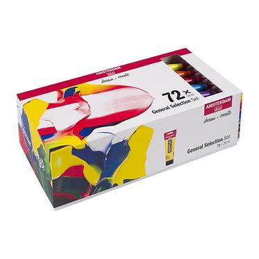 Set de 72 tubes Acrylique Amsterdam Standard