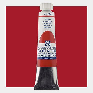 Gouache Extra-fine Quality Talens - Scarlet 334