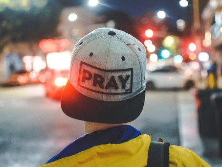 Someone is praying for you
