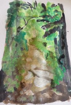 Watercolour nature