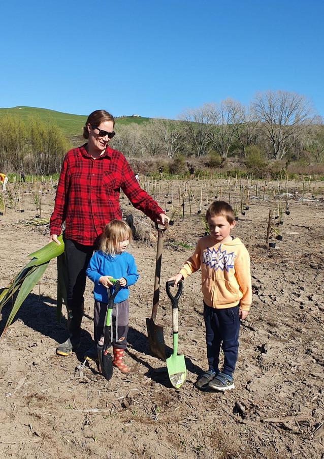 Waiotaka Planting Day