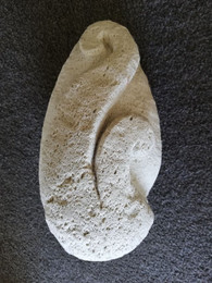 Pumice carving