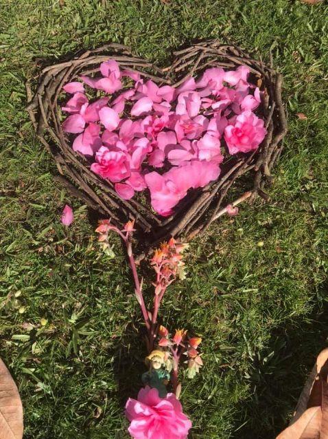 Nature art heart!
