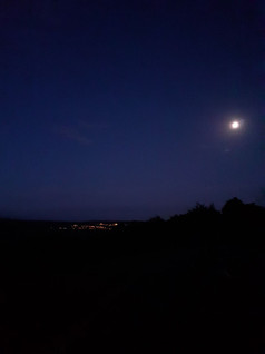 Nature photography, night sky