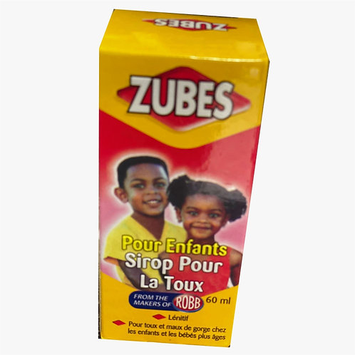 Zubes - Cough Syrup for Kids
