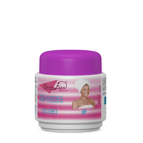 Clair Liss Genial Lightening Body Cream with Vitamin E
