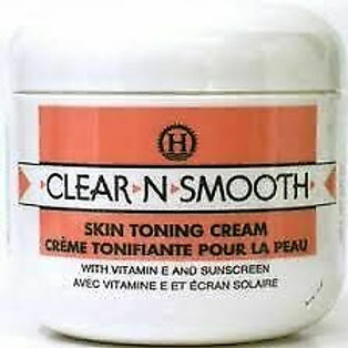 Clear N Smooth Skin Toning Cream with Vitamin E and Sunscreen