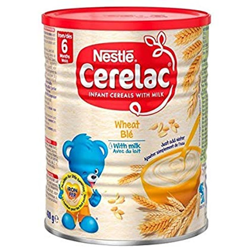 Nestle Cerelac Instant Cereals with Milk