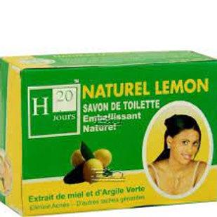 H 20 Jours Lemon, Honey & Green Clay Soap