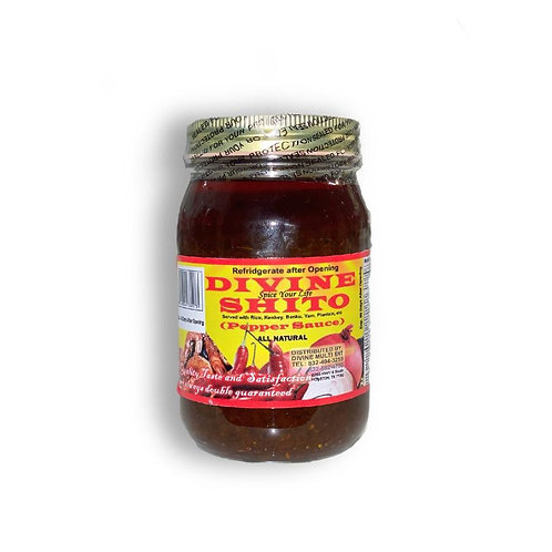 Divine Shito / Ghanaian Hot Chili Sauce to accompany your everyday meals