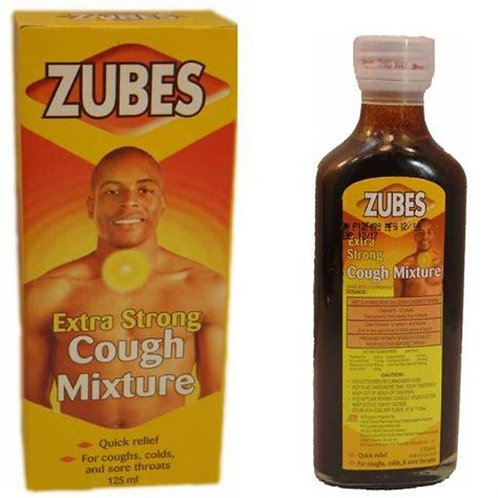 Zubes Extra Strong Cough Mixture for Adults