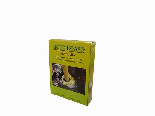 Gold Koast Akwaaba Instant Plantain flour